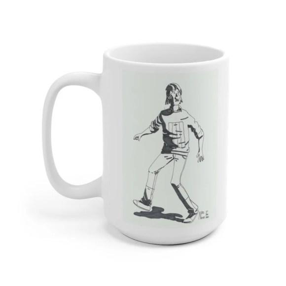 Urban Art Mug 2 sizes 36  Retro custom gift unique mugs image 0