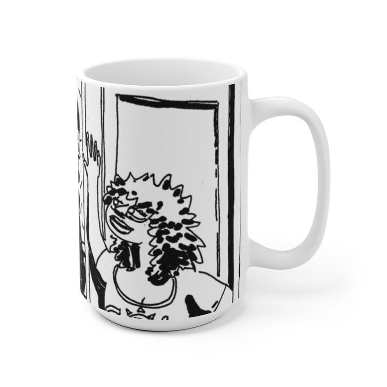 Cool Art Mug 2 sizes 15  Retro custom gift unique mugs with image 0