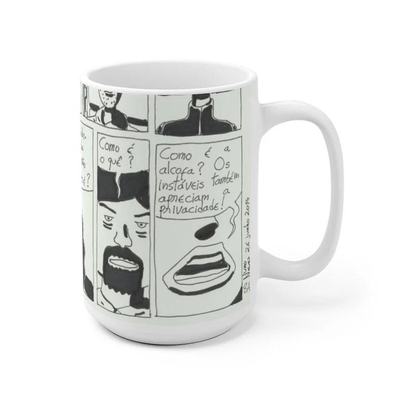 Cool Art Mug 2 sizes USA18  Retro custom gift unique mugs image 0