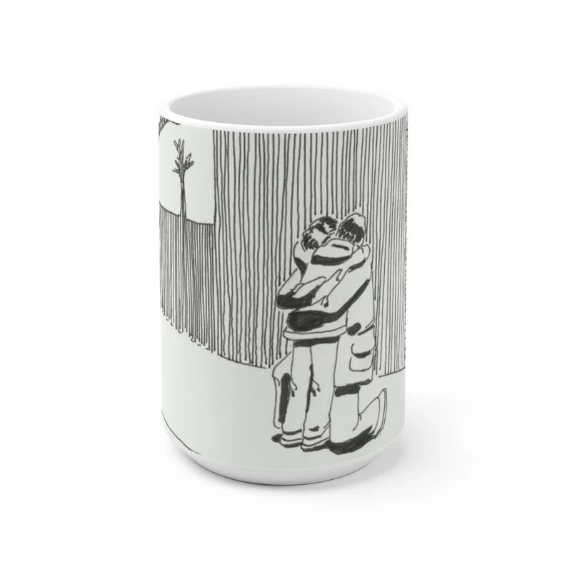 Urban Art Mug 2 sizes 58  Retro custom gift unique mugs image 0