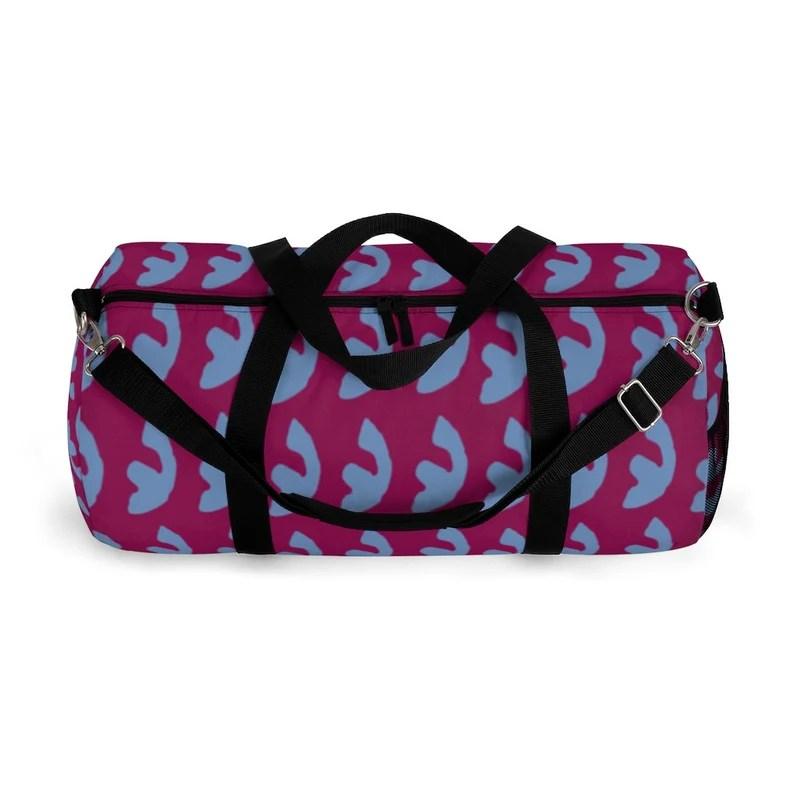 Cool Art Duffel Bag 2 sizes 8  Retro custom gift backpacks image 0