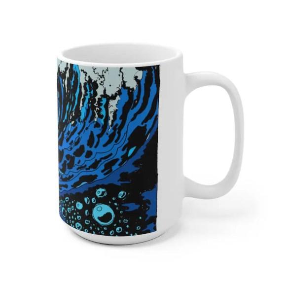 Urban Art Mug 2 sizes 31  Retro custom gift unique mugs image 0