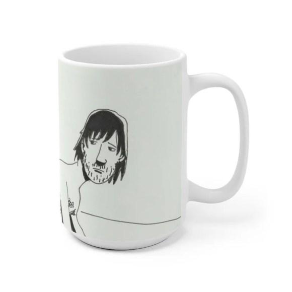 Cool Art Mug 2 sizes 3  Retro custom gift unique mugs with image 0