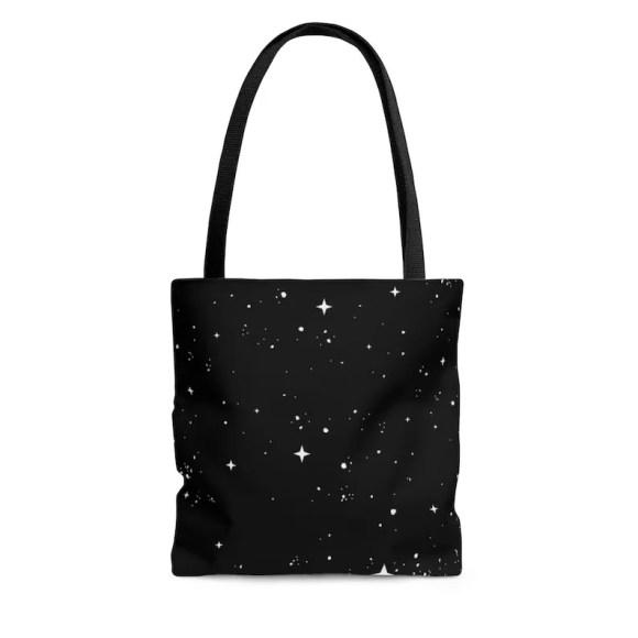 Cool Art Tote Bag 20  Retro custom gift aesthetic beach image 0