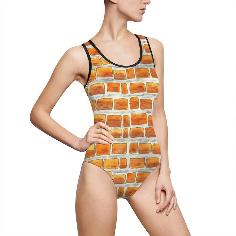 Urban Art Classic Swimsuit 11  Retro custom gift aesthetic image 0