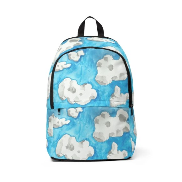 Urban Art Mid-sized Backpack 2  Retro custom gift  backpacks image 0