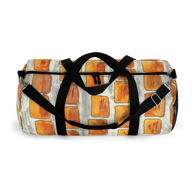 Cool Art Duffel Bag 2 sizes 11  Retro custom gift image 0