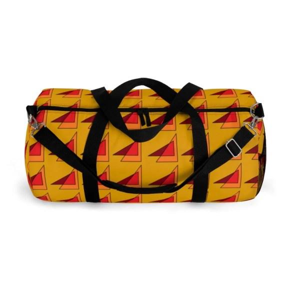 Cool Art Duffel Bag 2 sizes 10  Retro custom gift image 0