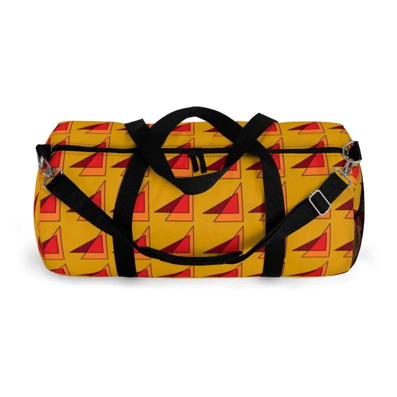 Cool Art Duffel Bag 2 sizes 10  Retro custom gift image 0