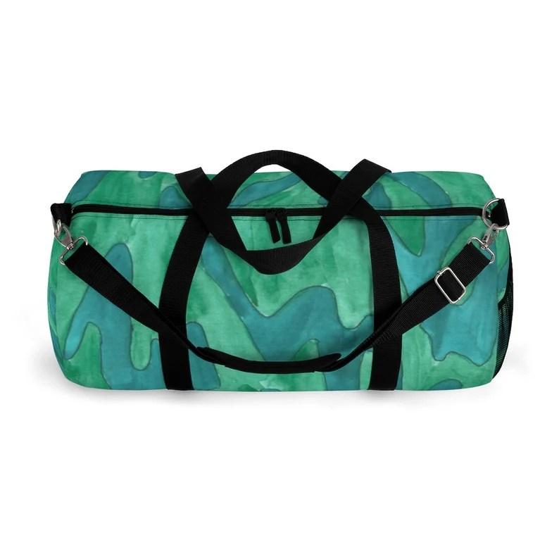 Cool Art Duffel Bag 2 sizes 12  Retro custom gift image 0