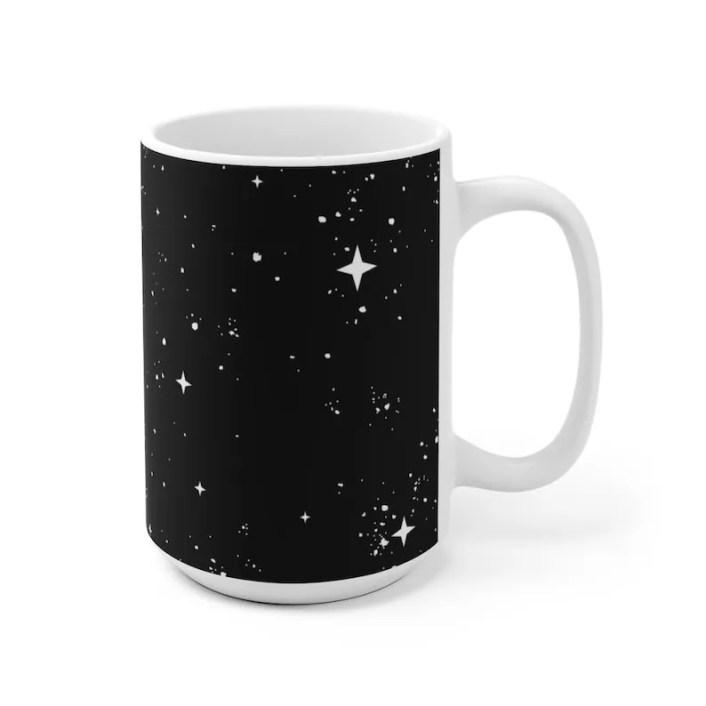 Cool Art Mug 2 sizes 65  Retro custom gift unique mugs with image 0