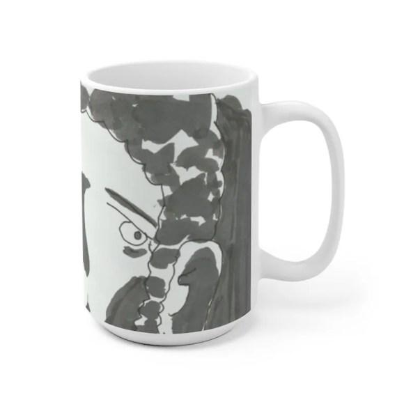 Urban Art Mug 2 sizes 26  Retro custom gift unique mugs image 0