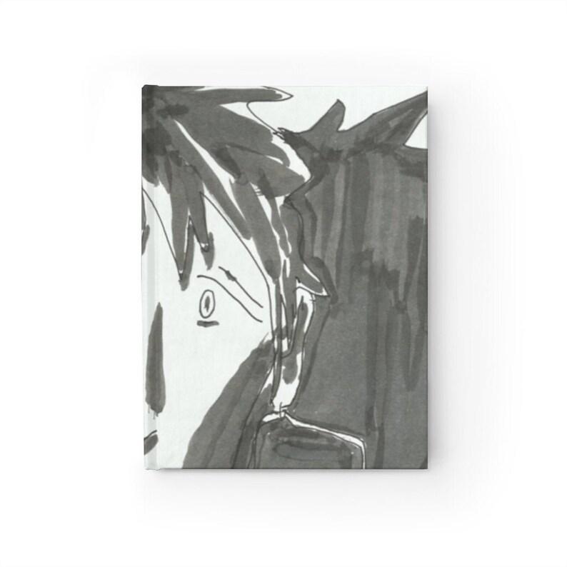Blank Journal With Urban Art Cover 40  Retro custom gift image 0