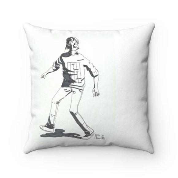 Cool Art Throw Pillows 16  Retro custom gift decorative image 0