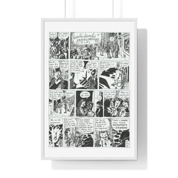 Cool Art Framed Poster 63  Retro custom gift urban pop image 0