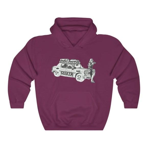 Cool Art Hooded Sweater 4  Retro custom gift aesthetic line image 0