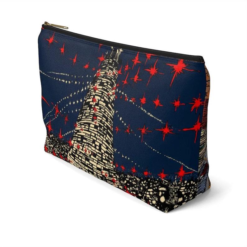 Urban Art Zipper Pouch T-bottom 2 sizes 7  Retro custom image 0