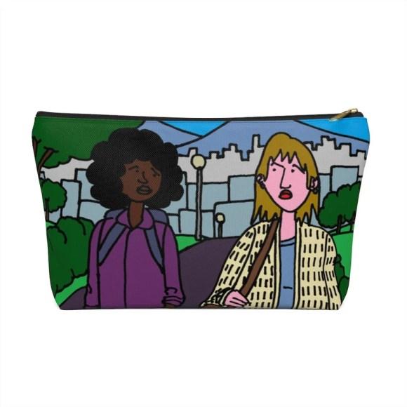 Urban Art Zipper Pouch T-bottom 2 sizes 10  Retro custom image 0