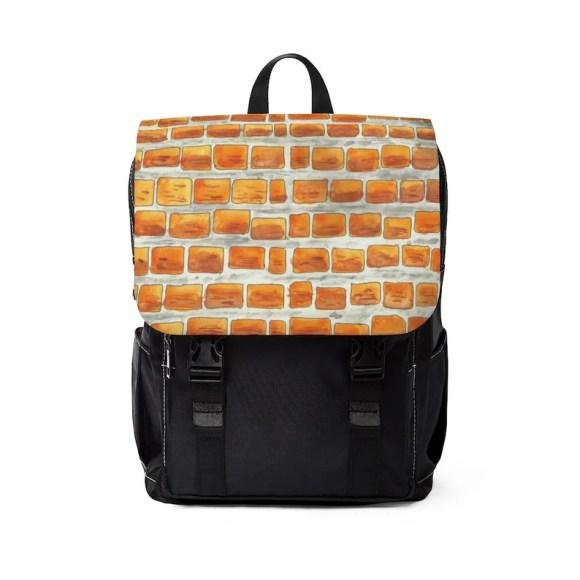 Urban Art Canvas Mini Backpack 13  Retro custom gift image 0