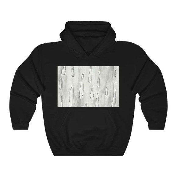Urban Art Hooded Sweater 2  Retro custom gift aesthetic line image 0