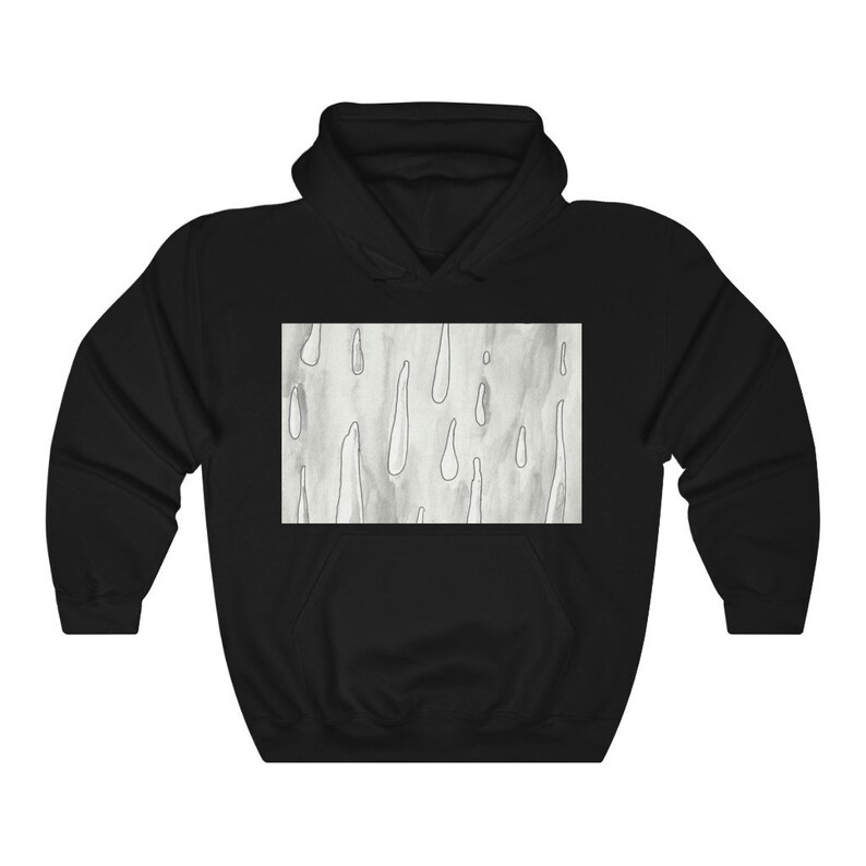 Urban Art Hooded Sweater 2  Retro custom gift aesthetic line image 0