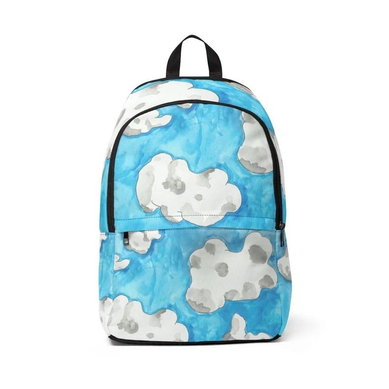 Cool Art Mid-sized Backpack 18  Retro custom gift  backpacks image 0