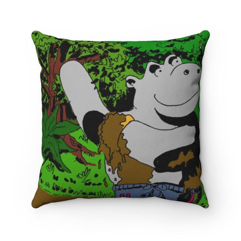 Urban Art Throw Pillows 3  Retro custom gift decorative image 0