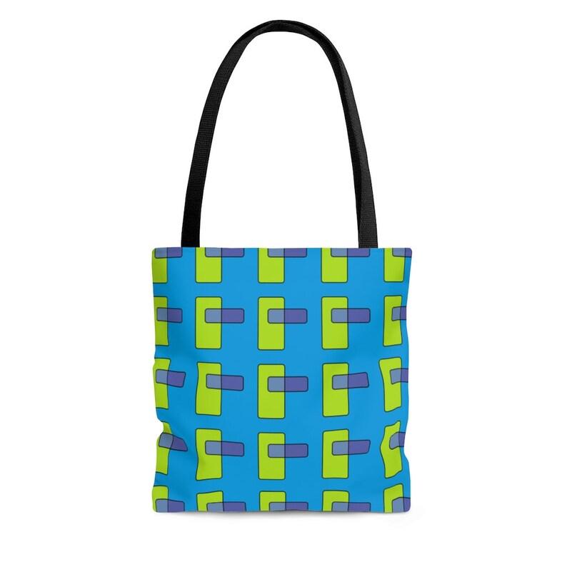 Cool Art Tote Bag 21  Retro custom gift aesthetic beach image 0