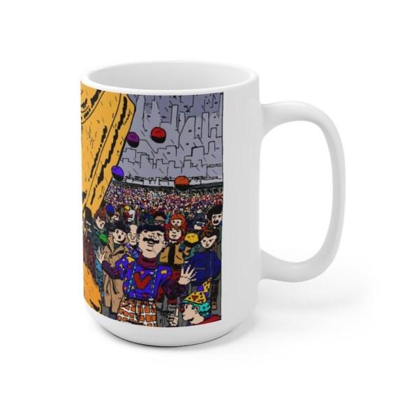Urban Art Mug 2 sizes 30  Retro custom gift unique mugs image 0