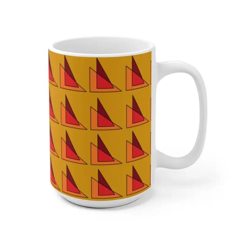 Cool Art Mug 2 sizes 69  Retro custom gift unique mugs with image 0