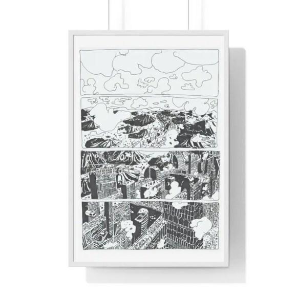 Cool Art Framed Poster 61  Retro custom gift urban pop image 0