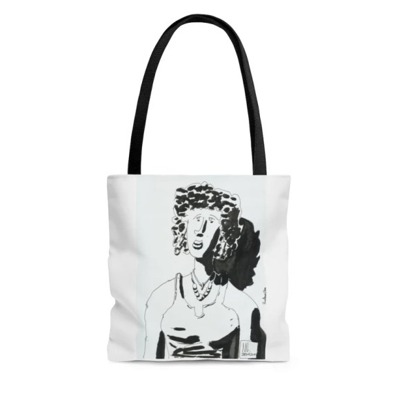 Urban Art Tote Bag 3 sizes 14  Retro custom gift aesthetic image 0