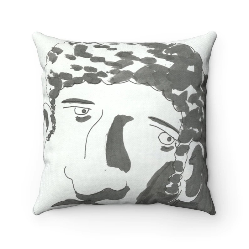 Urban Art Throw Pillows 25  Retro custom gift decorative image 0