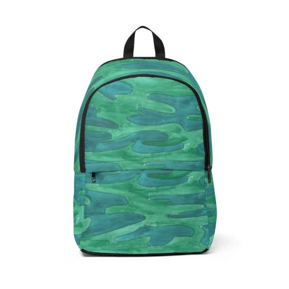 Urban Art Mid-sized Backpack 4  Retro custom gift  backpacks image 0