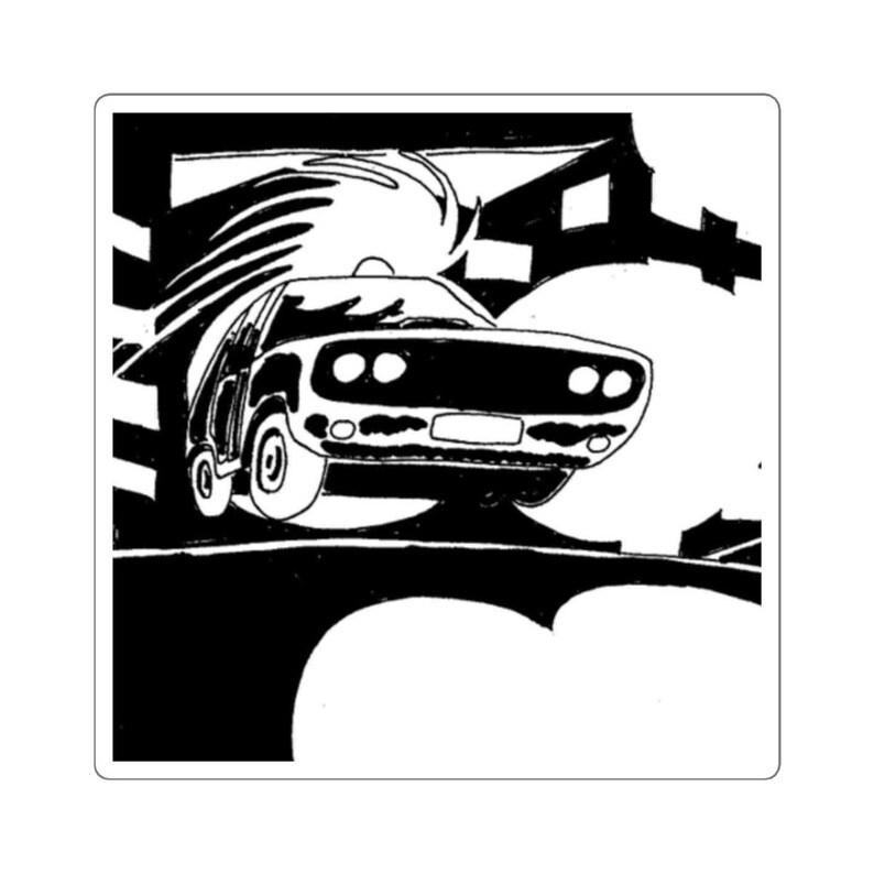 Urban Art Vinyl Stickers 2  Retro custom gift aesthetic image 0