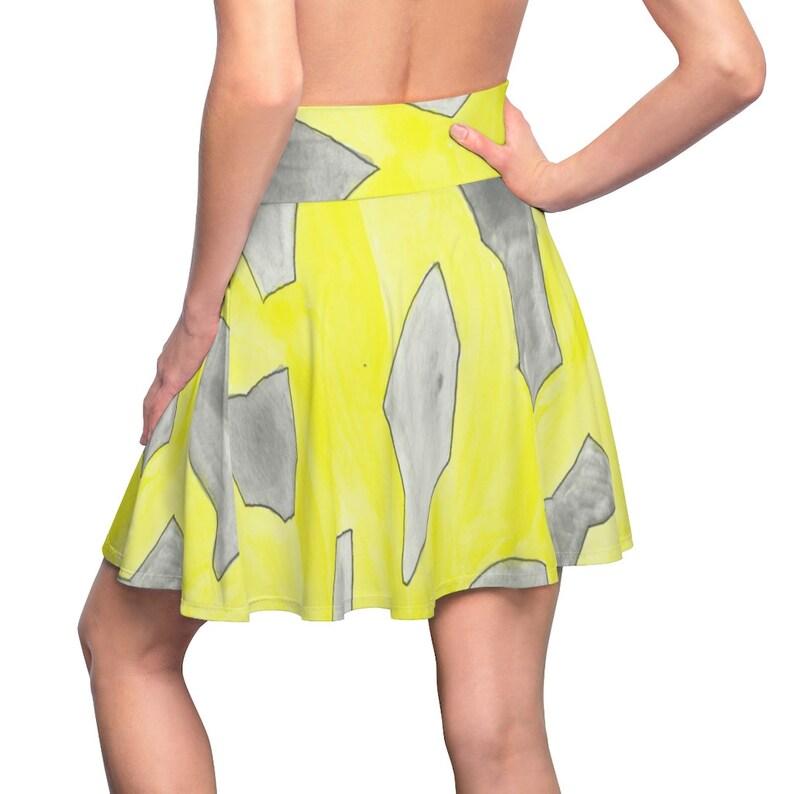 Urban Art Skater Skirt 10  Retro custom gift  skirts image 0