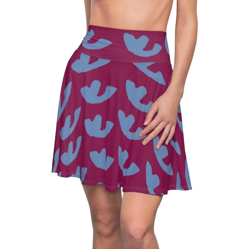 Cool Art Skater Skirt 15  Retro custom gift  skirts dresses image 0