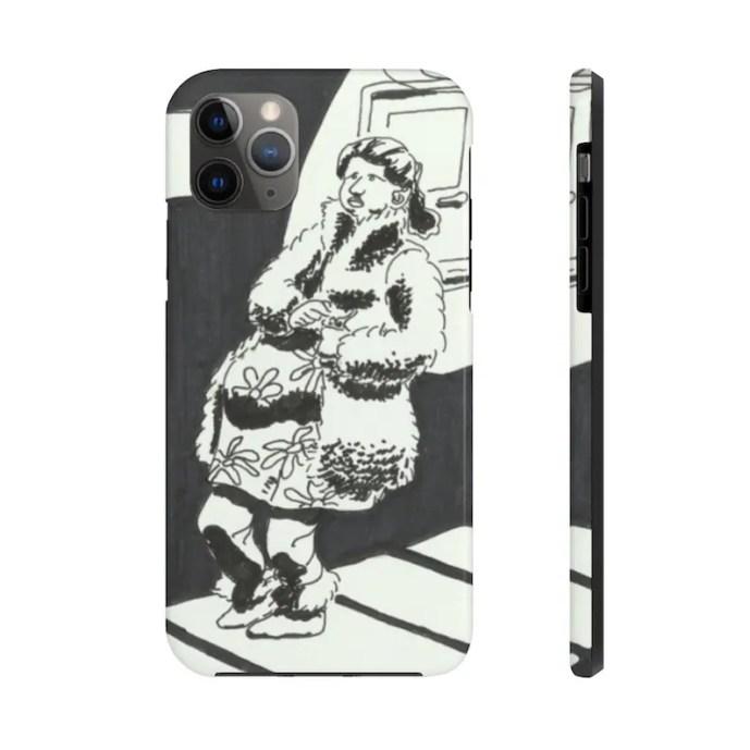 Cool Art Phone Case 17  Retro custom gift designer image 0