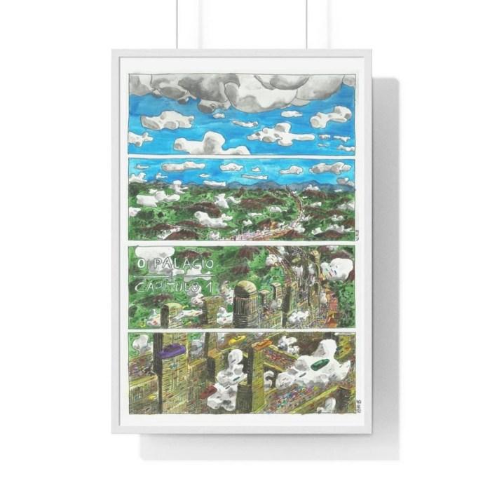 Cool Art Framed Poster 57  Retro custom gift urban pop image 0