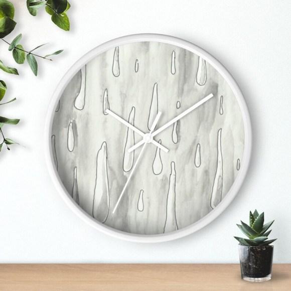Urban Art Wall Clock 3  Retro custom gift designer image 0