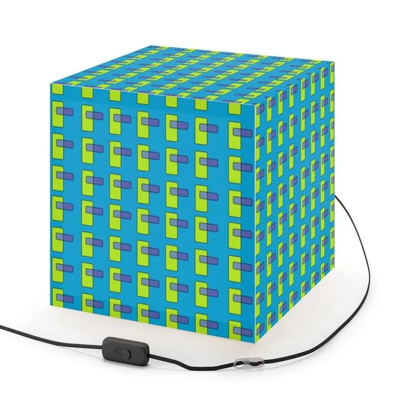 Cool Art Lamp 9  Retro custom gift pop art line art image 0