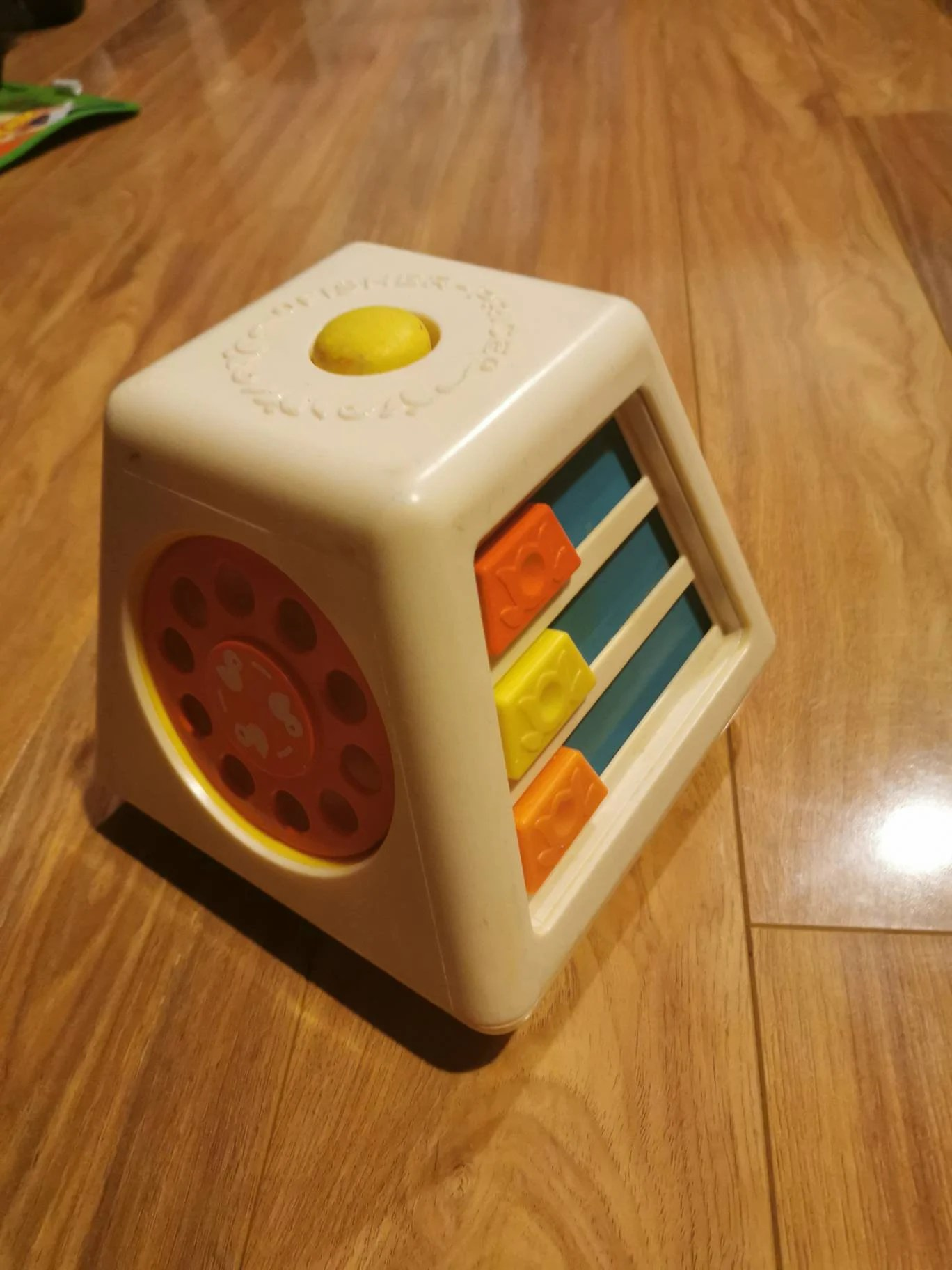 Vintage 1978 fisher price baby/toddler toy