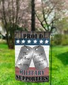 Sublimation Garden Flag Red White Blue Usa Proud Military Etsy
