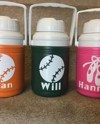 Personalized 1 2 Gallon Sports Water Jug Etsy