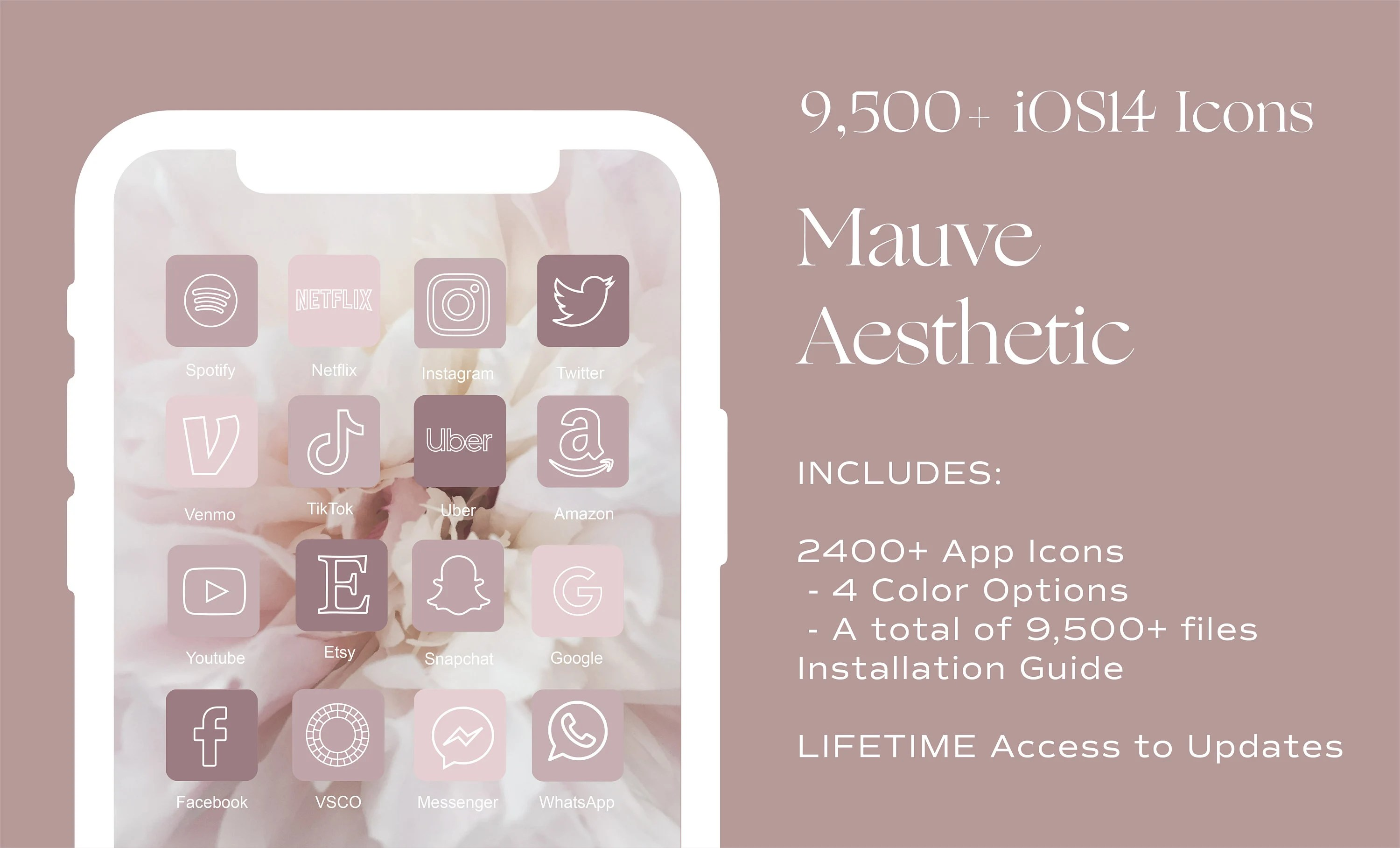Neutral, minimalist and abstract iphone wallpaper. 72000 iOS14 App Icons Neutral Pink Aesthetic Widget iOS 14 ...