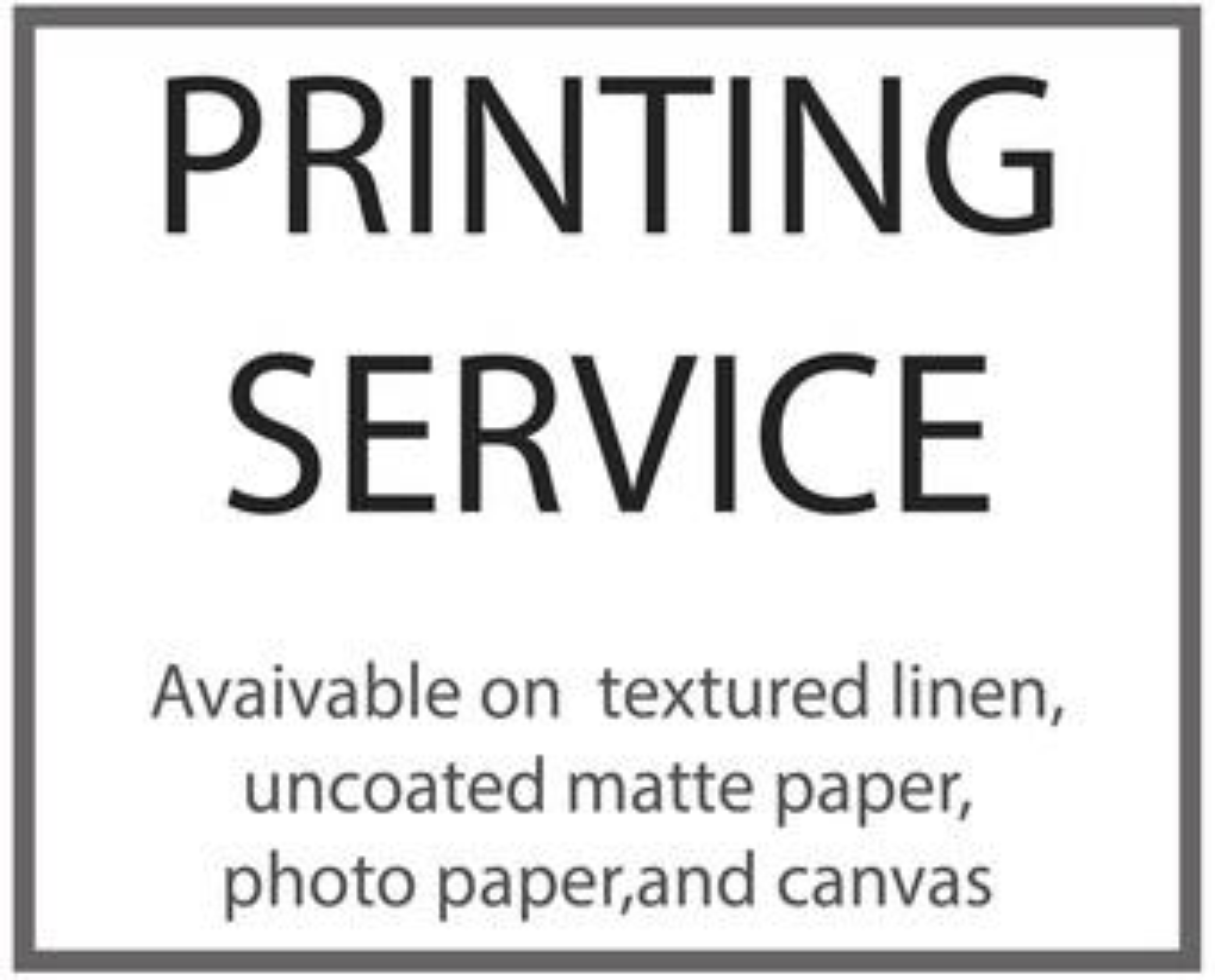 poster printing etsy