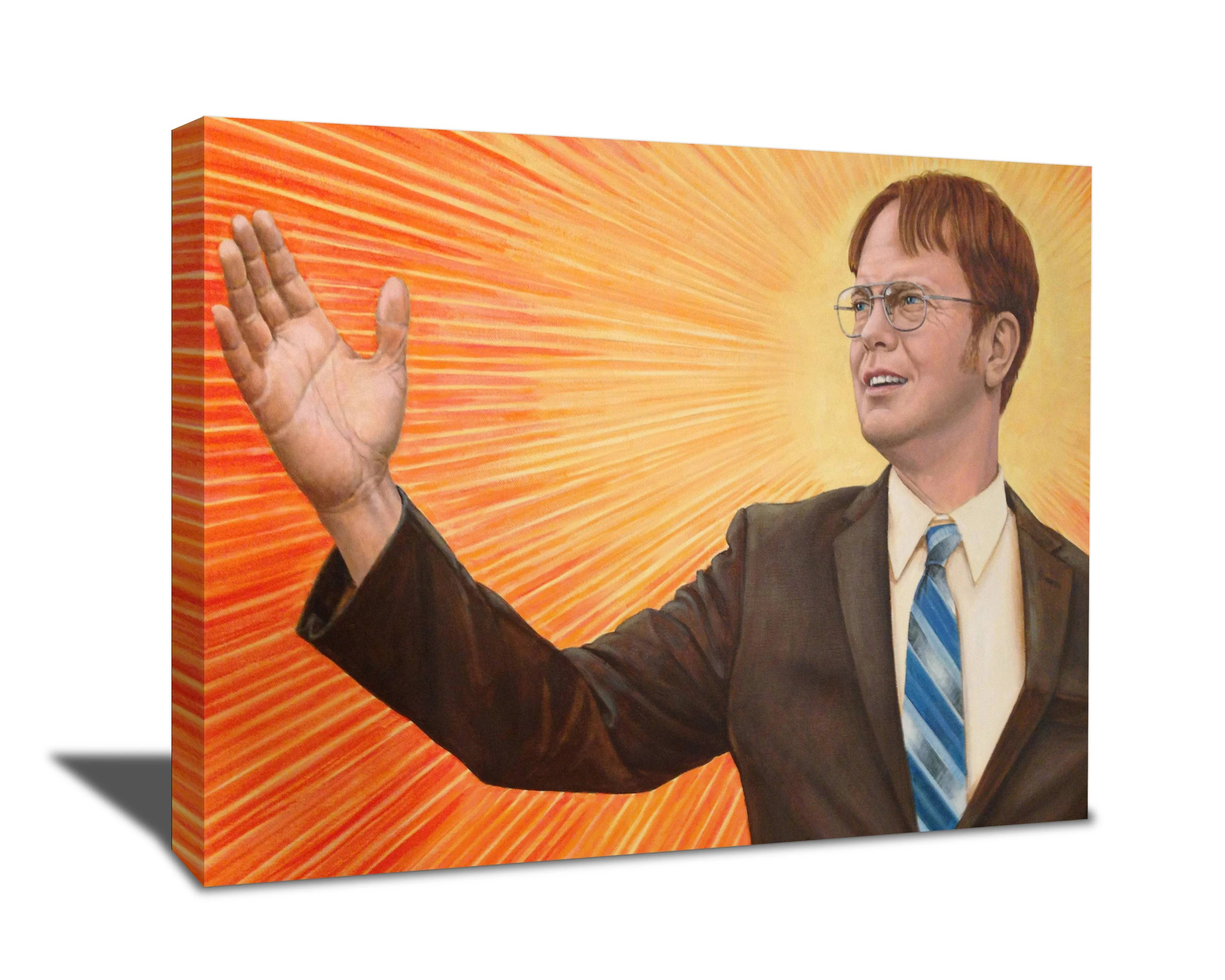 dwight schrute poster etsy