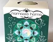 Clearing Sage Bath Bomb Heart Chakra Anahata Blend USDA Organic Aromatherapy Fizzy Bath Bomb Large 160g by Namaste Home