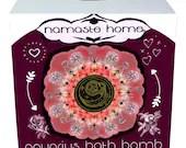 Aquarius Bath Bomb, Aquarius Gift, Fizzy Bath Bomb, Zodiac Bath Bomb, Energy Activating Bath Bomb by Namaste Home