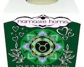 Taurus Bath Bomb, Taurus Gift, Fizzy Bath Bomb, Zodiac Bath Bomb, Energy Activating Bath Bomb by Namaste Home